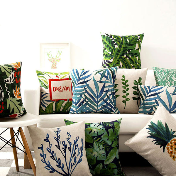 Toucan in the Tropics Cushion Covers by Cushions Int.