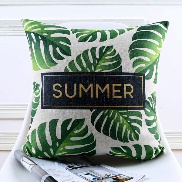 Hello Summer Jungle Cushion Covers by Cushions Int.