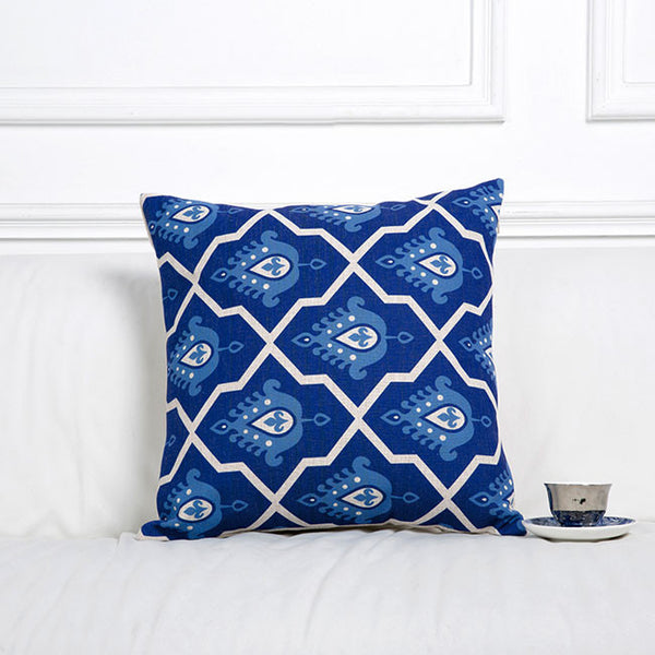 Afternoon Tea for Blue Cushion Covers by Cushions Int.