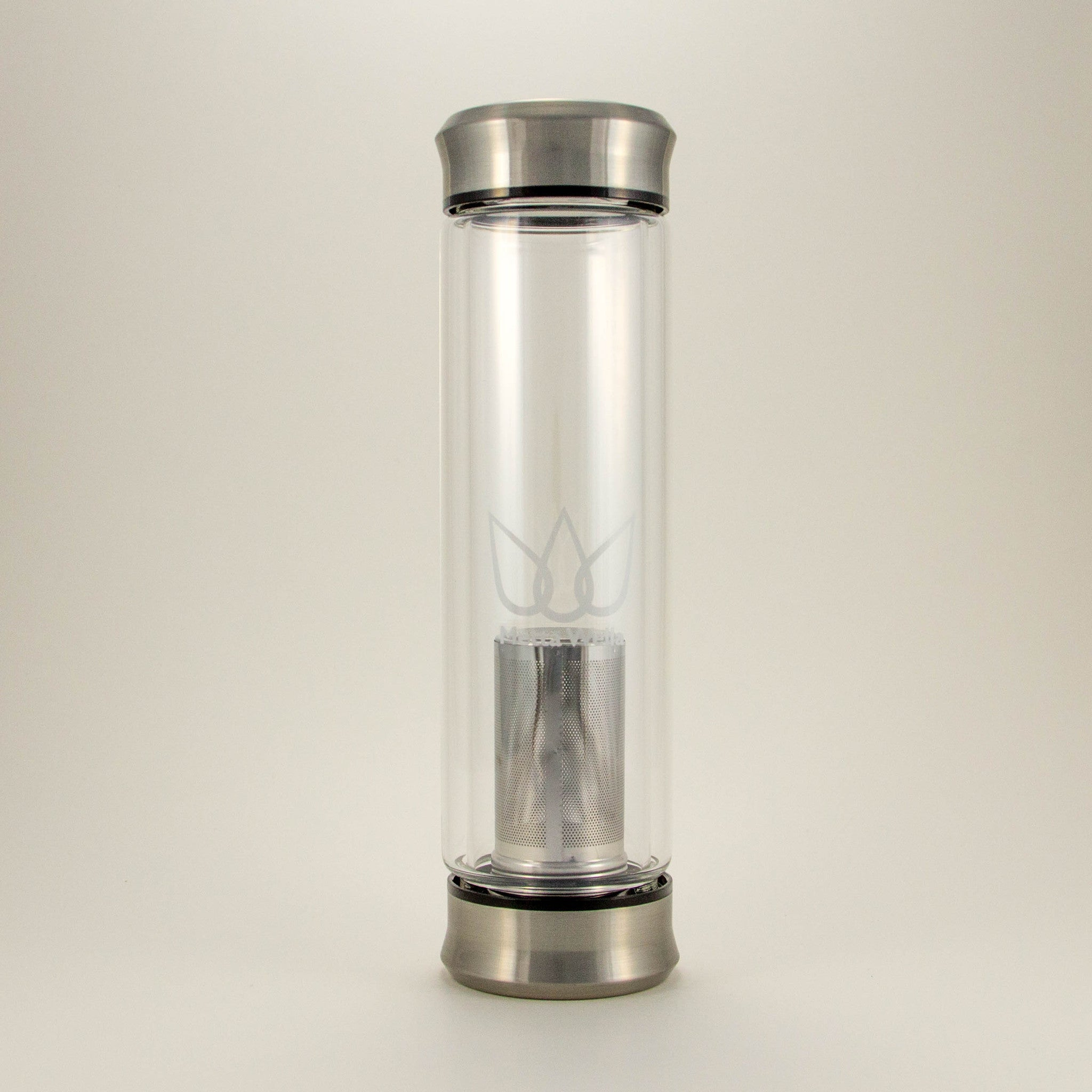 San Fran - Double Walled Vacuum Insulated Glass Infuser Bottle