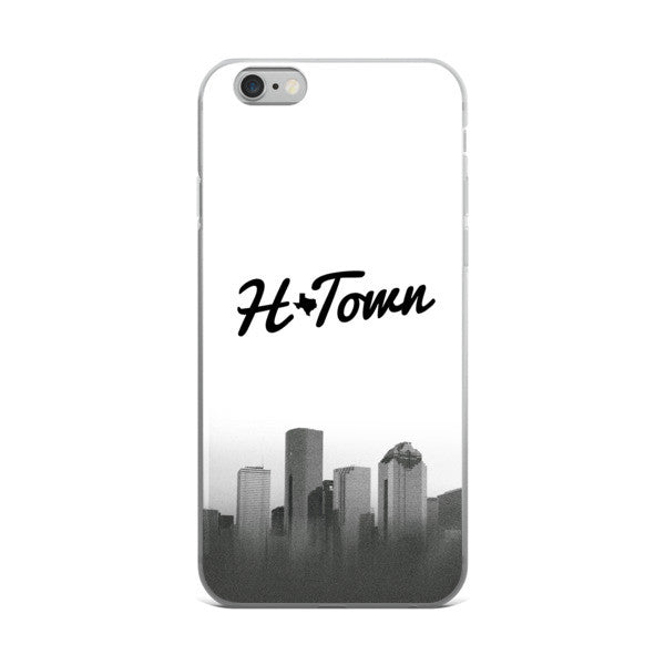 H_TOWN Skyline- iPhone case - iRepTheH