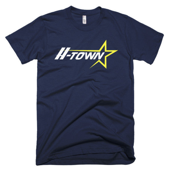 Classic H-Town - Short sleeve men's t-shirt - iRepTheH