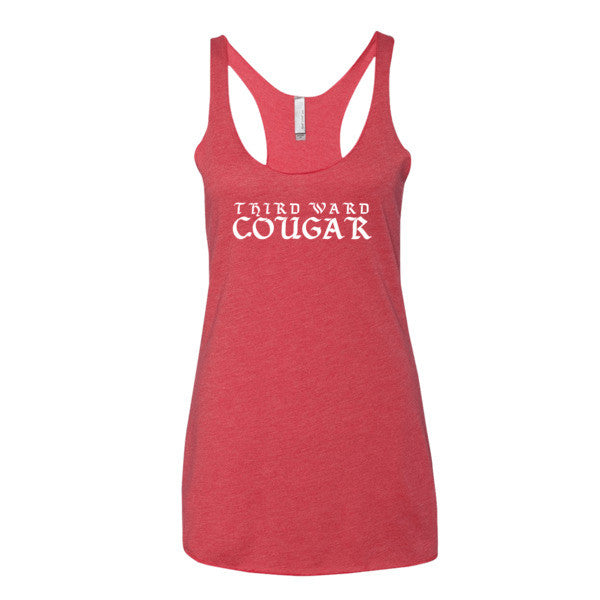 Third Ward Cougar - Women's tank top - iRepTheH