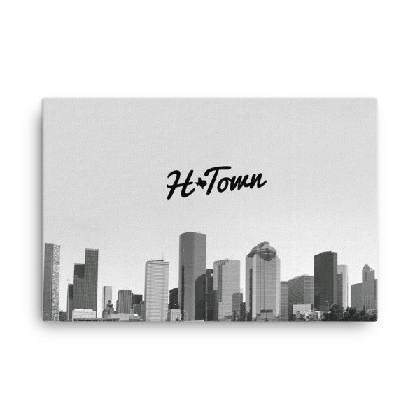 H-Town Skyline - Canvas - iRepTheH