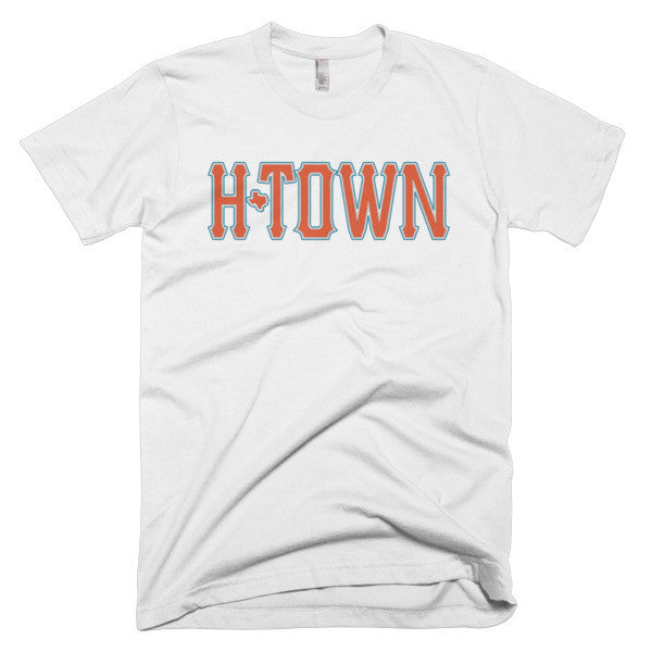 H-Town 713 Stitch - Short sleeve men's t-shirt - iRepTheH