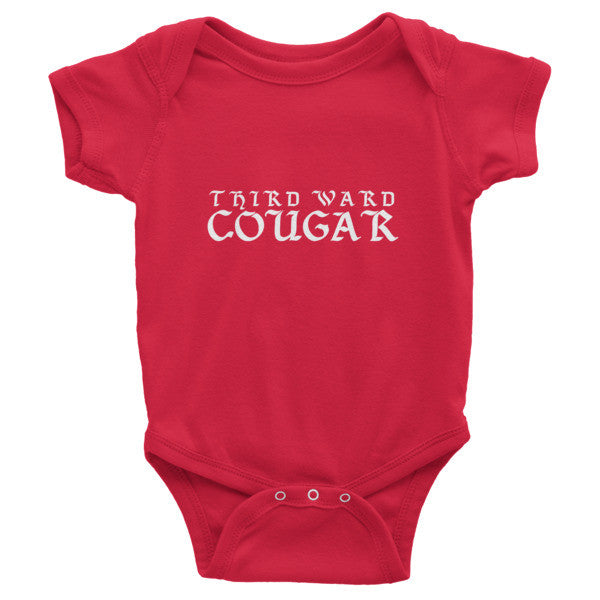 Third Ward Cougar - Infant short sleeve one-piece - iRepTheH