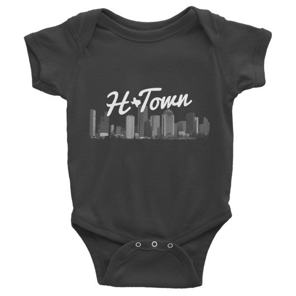 H-TOWN - Infant short sleeve one-piece - iRepTheH