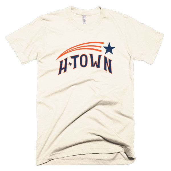 Shooting H-Town - Short sleeve men's t-shirt - iRepTheH