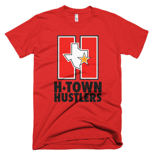 H-TOWN HUSTLERS - Short sleeve men's t-shirt - iRepTheH