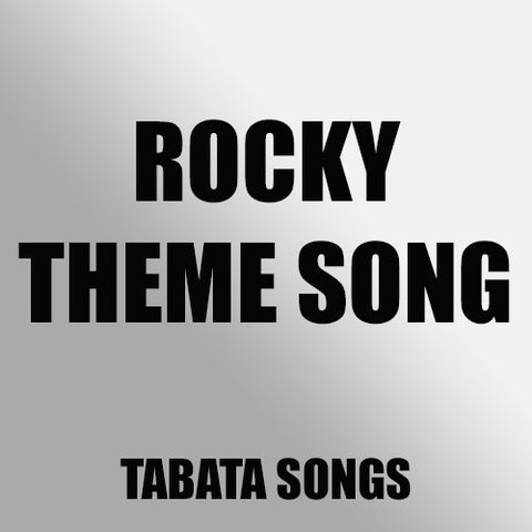 Rocky Theme- Gonna Fly Now (Tabata Mix)