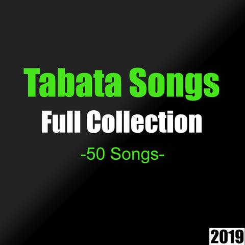 Tabata Songs (Full Collection- All Songs)