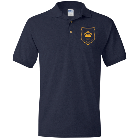 Jersey Polo Shirt for Him Gold