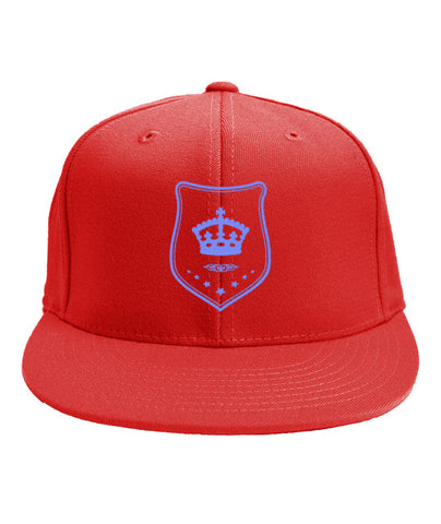 Red Snapback Blue Shield