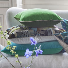 Load image into Gallery viewer, Varese Emerald Decorative Pillow