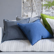 Load image into Gallery viewer, Brera Lino Marine Decorative Pillow