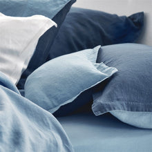 Load image into Gallery viewer, Biella Midnight & Wedgwood Duvet