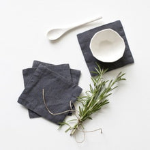 Load image into Gallery viewer, Washed Linen Coasters (Set of 4)