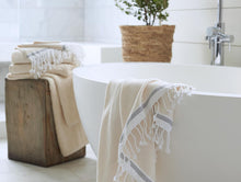 Load image into Gallery viewer, Mediterranean Organic Guest Towels