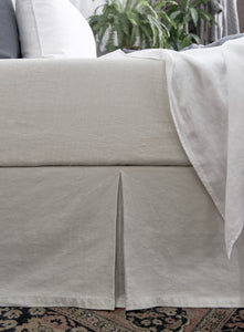 Vintage Linen Fitted Sheet