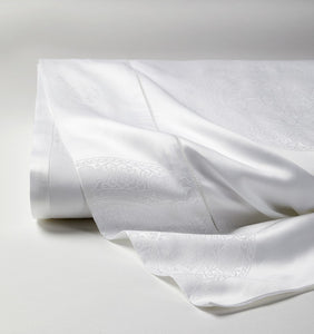 Giza 45 Medallion Sateen Flat Sheet