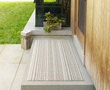 Load image into Gallery viewer, Skinny Stripe Shag Mat - Birch