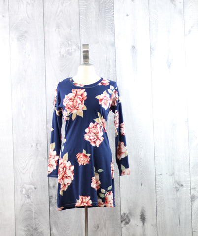 Floral Dolman Dress | Size Small