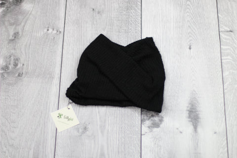 4-Way Twisty Headband (Black)