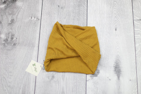 4-Way Twisty Headband (Mustard)