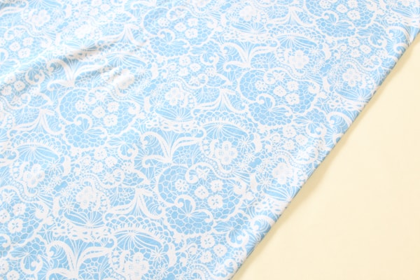 Aqua Lace Cotton Spandex