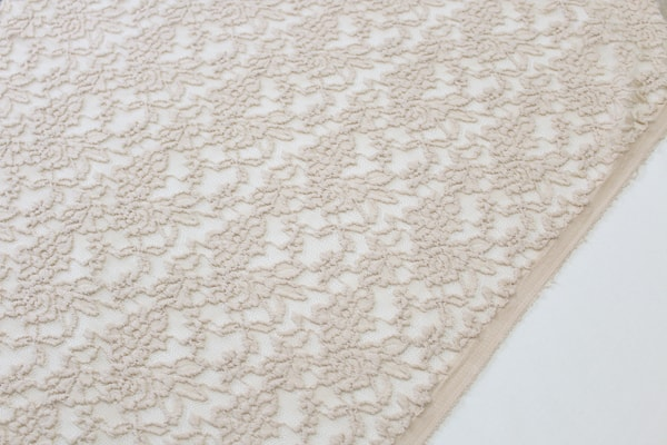 Cream Stretch Lace