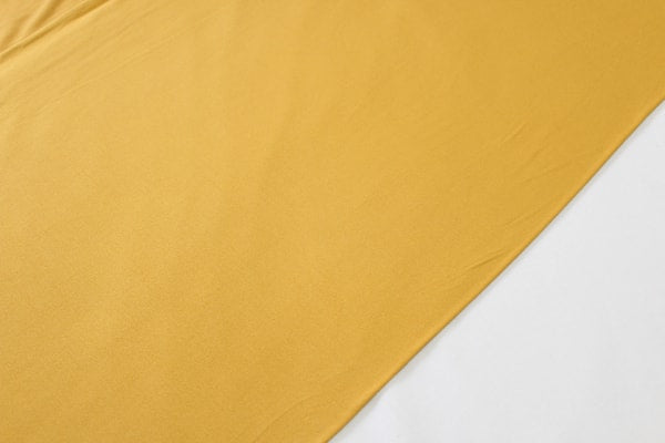 Mustard Double Brushed Poly
