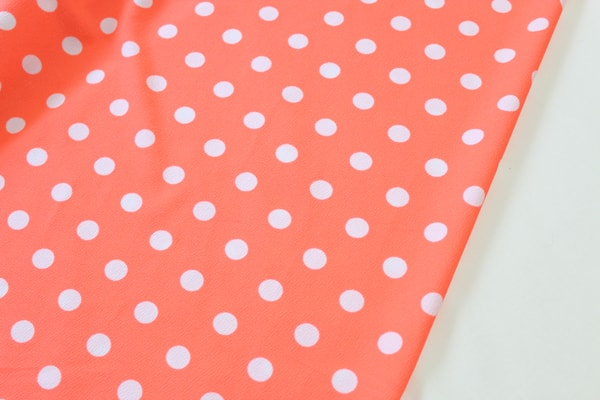 Orange Polka Dot Liverpool