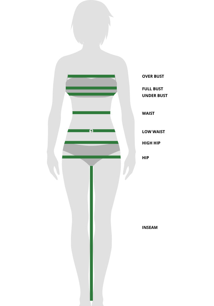 Women's Clothing Measuring Guide