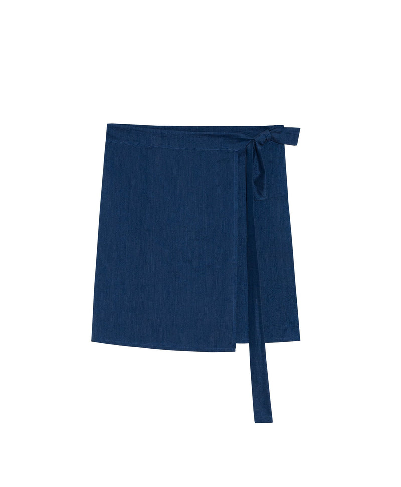 Adah Mini Wrap Skirt