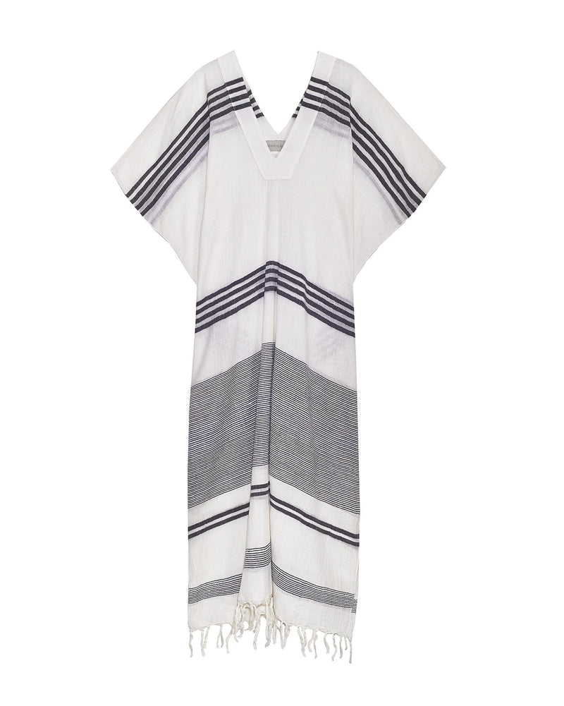 free-spirited clothing leisurewear neutral colors ethically crafted elegant caftans