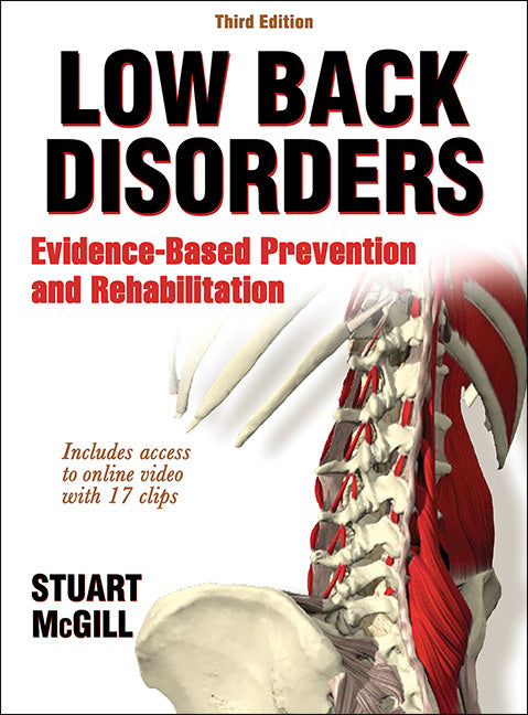 Low Back Disorders: Evidence-Based Prevention and Rehabilitation, Third Edition