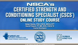 NSCA Certified Strength and Conditioning Specialist Study Course