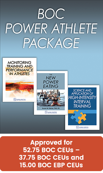 BOC Power Athlete CE Course Package, 2021 Edition