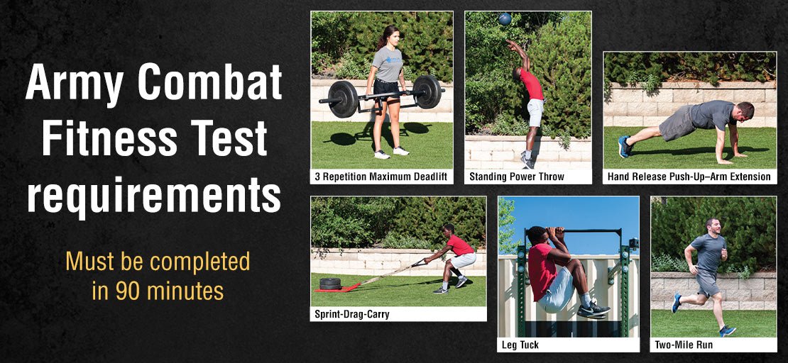 Army Combat Fitness Test requirements