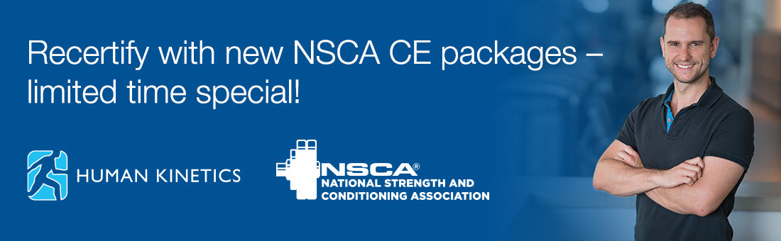 Recertify with new NSCA CE packages