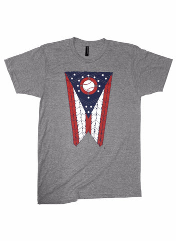 Ohio Flag tshirt fashion