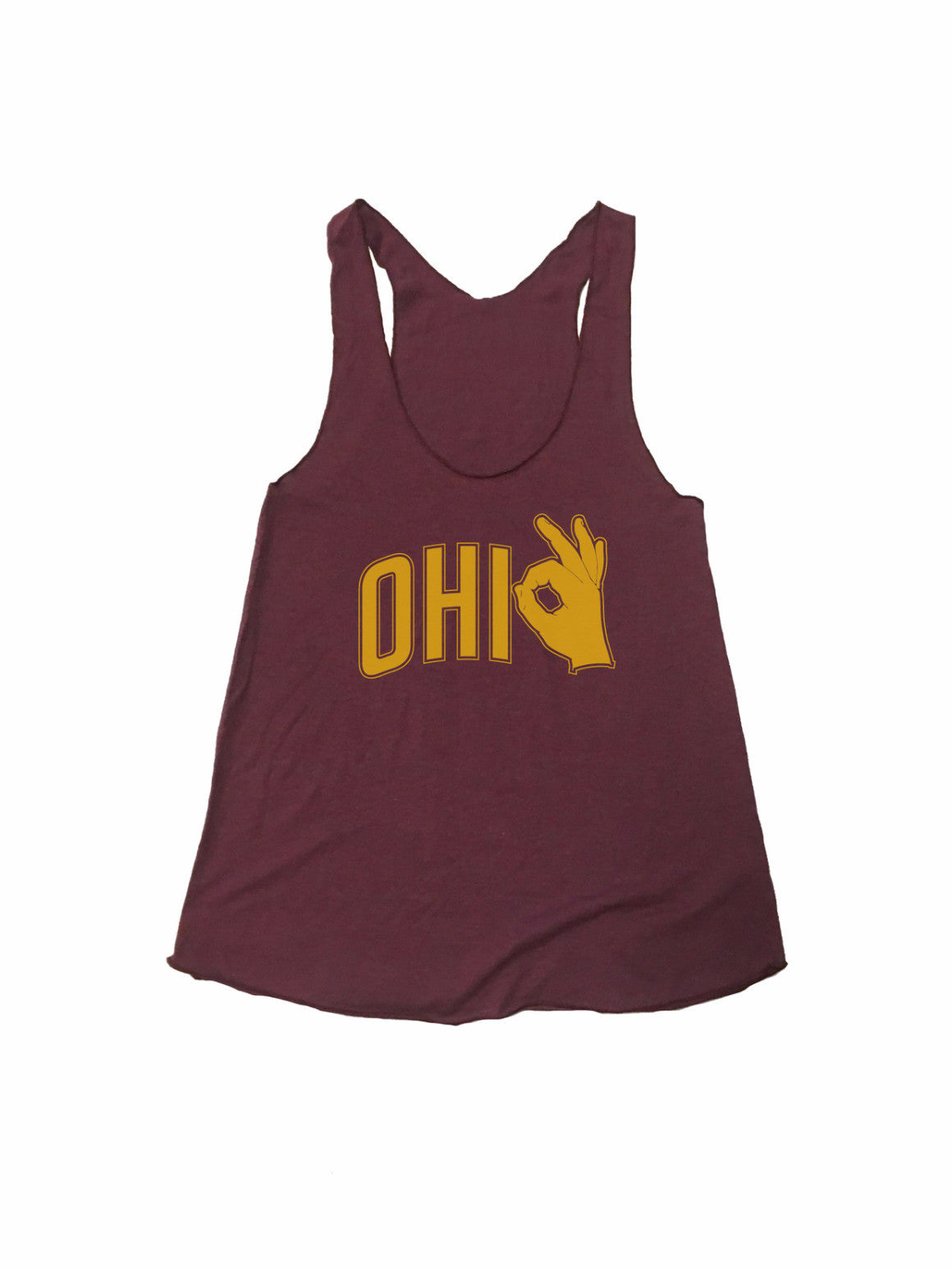 Ohio 3 Point Racerback - TrendyCharlie Trendy Charlie shirt