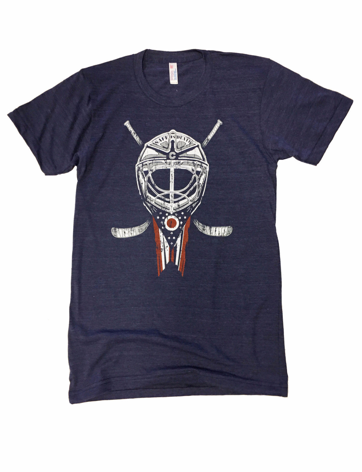 Safe is Death T-Shirt Columbus hockey Blue Jackets