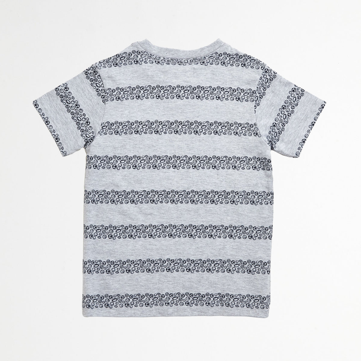 Athletic Striped Tee