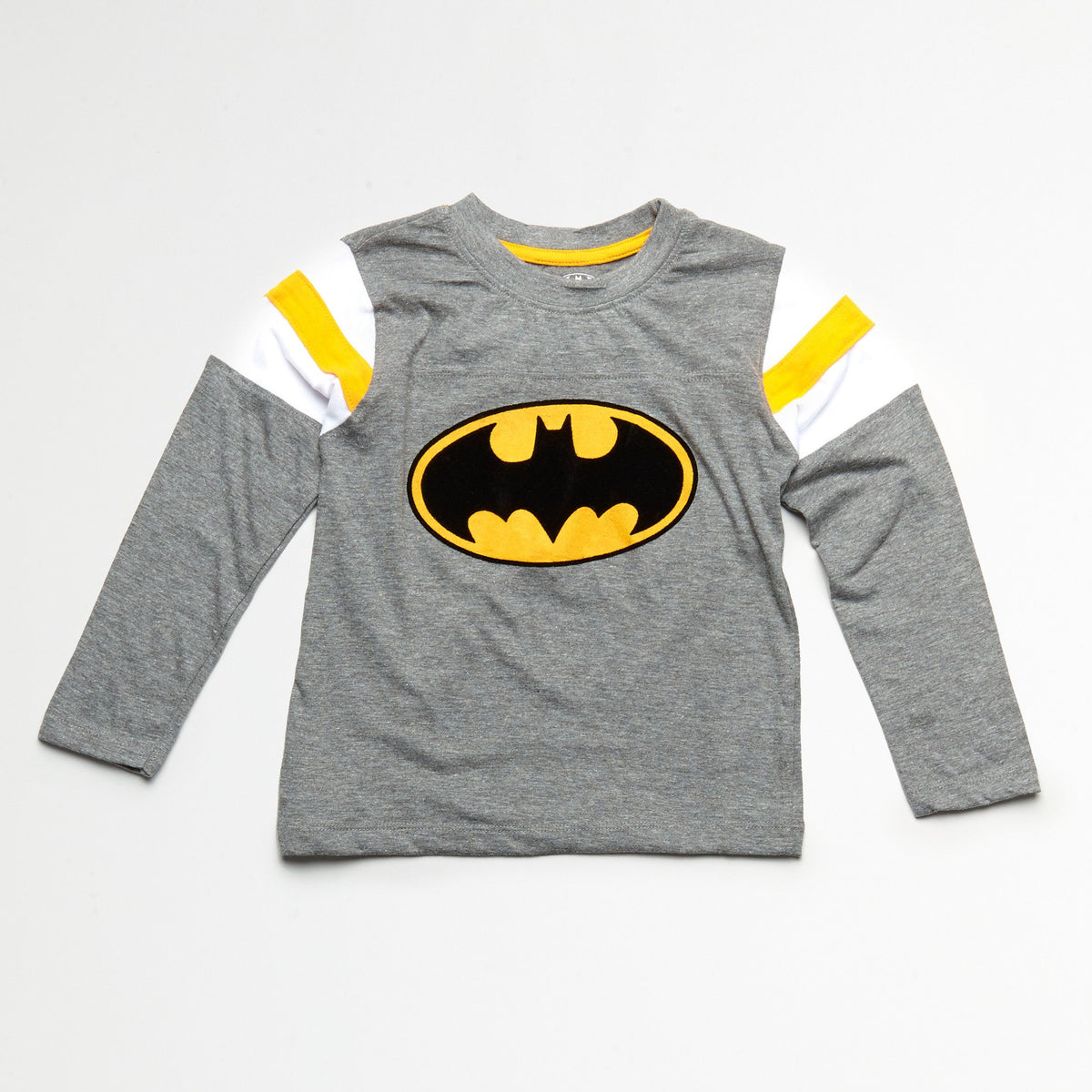 Batman Black/Yellow Tee & Jogger Set