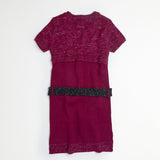 Berry Sweater Dress