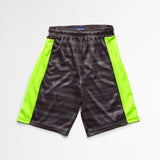 Black Green Athletic Shorts