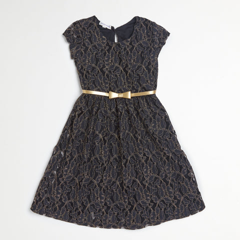 Black Lace Dress