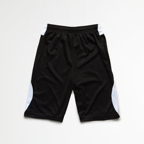 Black White Athletic Shorts