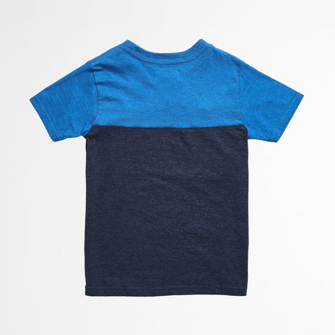 Blue Chambray Pocket Tee